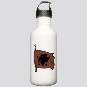 Albania Counrty Flag Stainless Water Bottle 1.0L