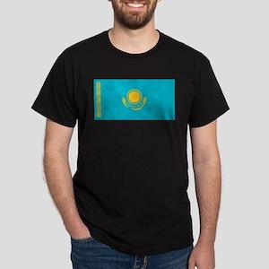 Kazakhstan Flag Dark T-Shirt