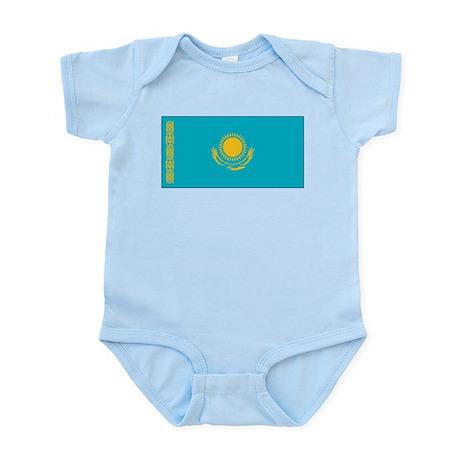Kazakhstan Flag Infant Bodysuit