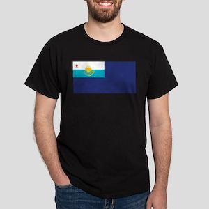Kazakhstan Govt. Ensign Dark T-Shirt