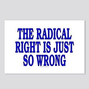 The radical right is just... (8 postcards)