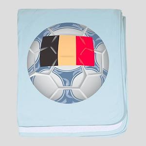 Belgium Championship Soccer baby blanket