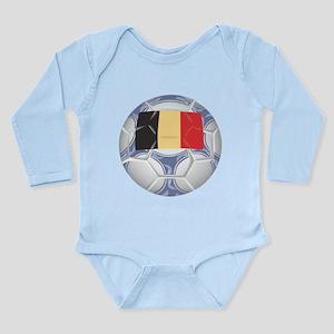 Belgium Championship Soccer Long Sleeve Infant Bod