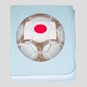 Japan Championship Soccer baby blanket