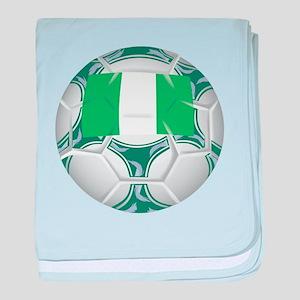 Nigeria Championship Soccer baby blanket