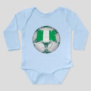 Nigeria Championship Soccer Long Sleeve Infant Bod
