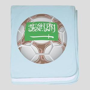 Saudi Arabia Championship Soc baby blanket