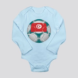 Tunisia Championship Soccer Long Sleeve Infant Bod