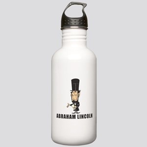Abe Lincoln goofy Stainless Water Bottle 1.0L