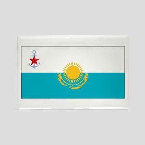 Kazakhstan Naval Ensign Rectangle Magnet