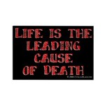Life and Death Rectangle Magnet