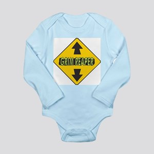 Grim Reaper Up and Down Arrow Long Sleeve Infant B