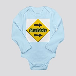 Grim Reaper Right Arrows Sign Long Sleeve Infant B