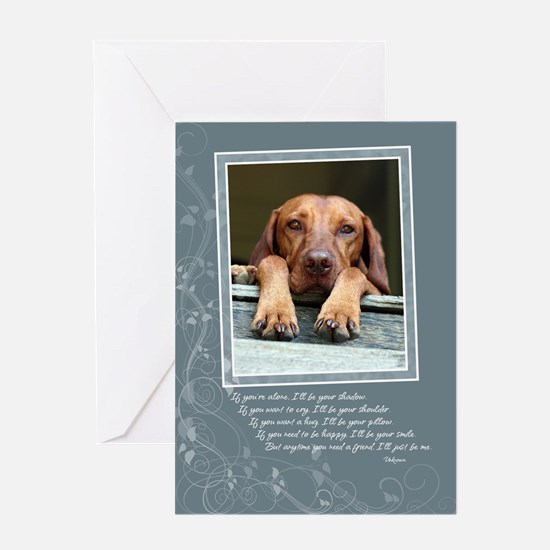 Hungarian Vizsla Card GC004 (quote)