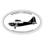 Profile Sticker #5: Stinson L-5 Sentinel