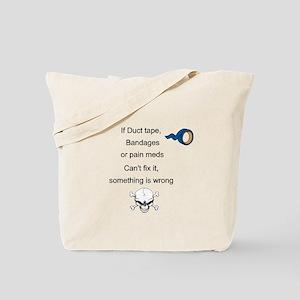 Something Is Wrong Tote Bag