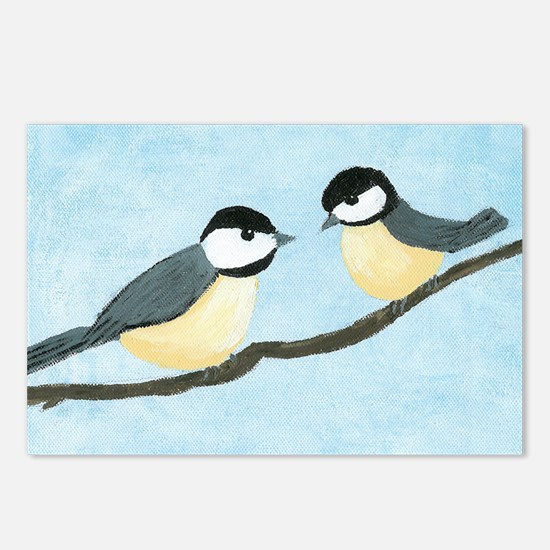 Chickadees Postcards (Package of 8)