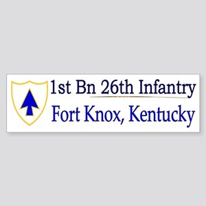 1st Bn 26th Infantry Sticker (Bumper)