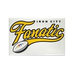Iron City Fanatic Rectangle Magnet (100 pack)
