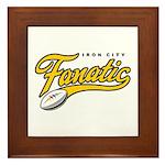 Iron City Fanatic Framed Tile