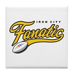 Iron City Fanatic Tile Coaster