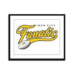 Iron City Fanatic Framed Panel Print