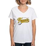 Iron City Fanatic Women's V-Neck T-Shirt