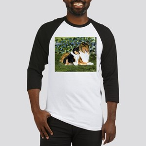 Rough Collie Mom and Pup Baseball Jersey