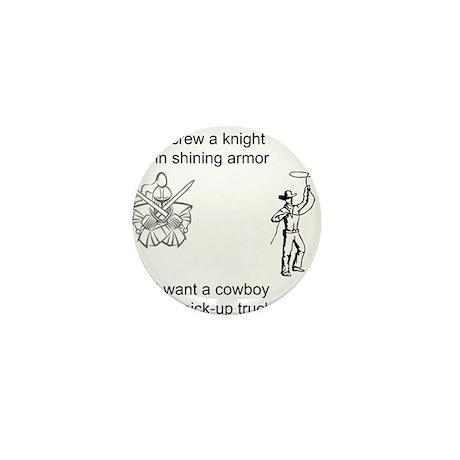 Screw Knights Mini Button (100 pack)