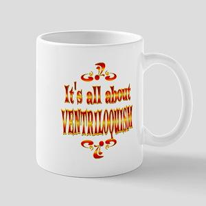 About Ventriloquism Mug