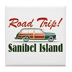 Road Trip! - Sanibel Tile Coaster