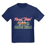 Road Trip! - Sanibel Kids Dark T-Shirt