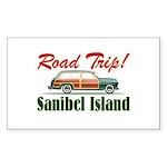 Road Trip! - Sanibel Sticker (Rectangle)