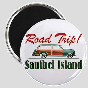 Road Trip! - Sanibel Magnet