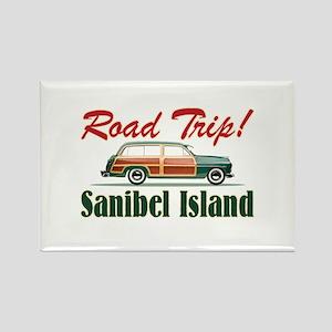 Road Trip! - Sanibel Rectangle Magnet