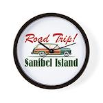 Road Trip! - Sanibel Wall Clock
