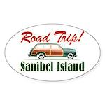 Road Trip! - Sanibel Sticker (Oval)