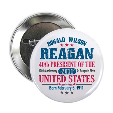 "Ronald Reagan 2.25"" Button (10 pack)"