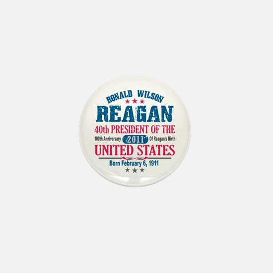 Ronald Reagan Mini Button