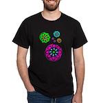 Fibonacci Flower Power Dark T-Shirt