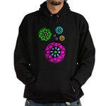 Fibonacci Flower Power Hoodie (dark)