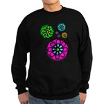 Fibonacci Flower Power Sweatshirt (dark)