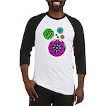Fibonacci Flower Power Baseball Jersey