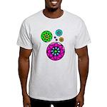 Fibonacci Flower Power Light T-Shirt