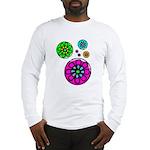 Fibonacci Flower Power Long Sleeve T-Shirt