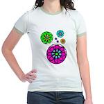 Fibonacci Flower Power Jr. Ringer T-Shirt