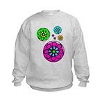 Fibonacci Flower Power Kids Sweatshirt