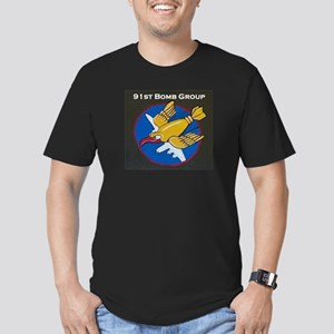 91st Bomb Group Men's Fitted T-Shirt (dark)