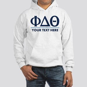 Phi Delta Theta Personalized Hooded Sweatshirt