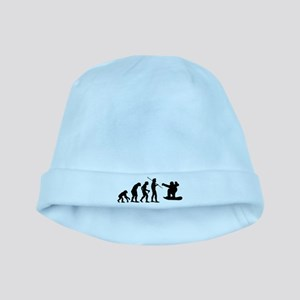 Evolution Snowboarding Snowbo baby hat
